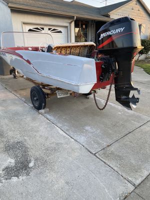 1968 boat, With 2004 Mercury engine for Sale in Castro Valley, CA