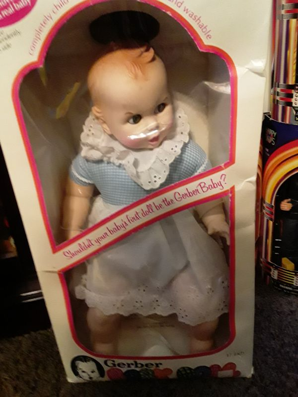 Antique Gerber baby never out of box