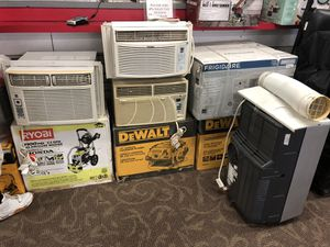 AC's .. HAIER / DAEWOO / LG / GE ... portable & Window operated.. 10,000 , 12,000 BTU's , PRICES BEGIN AT $180 - for Sale in Baltimore, MD