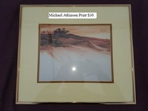 Michael Atkinson Print $30 for Sale in Dresden, OH