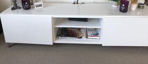 Besta White Tv Stand for Sale in Cambridge, MA