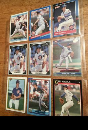 Greg Maddox baseball ⚾️ cards for Sale in Lombard, IL