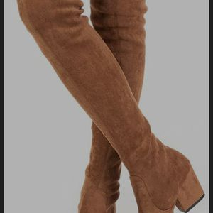 N.N.G Women Boots Winter Over Knee Long Boots Fashion Boots Heels Autumn Quality Suede Comfort Square Heels for Sale in Portland, OR