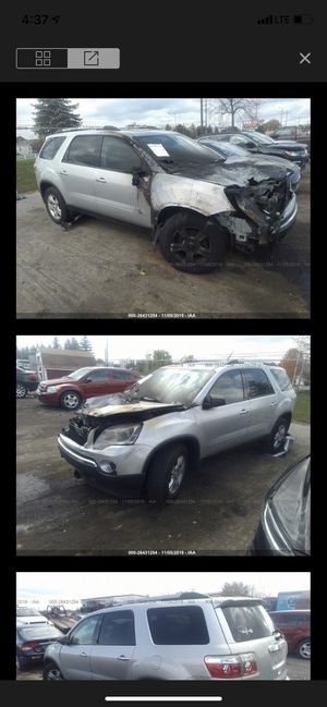 GMC Acadia- 3.6 engine - fire damage for parts only for Sale in Dearborn, MI