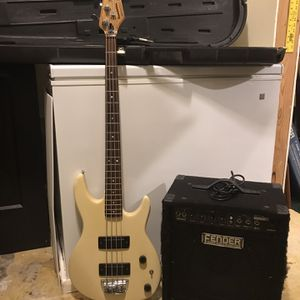 1985 Peavey Foundation Bass Guitar With Two Amps for Sale in Suwanee, GA