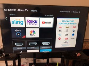 58 inch 4k Roku smart tv for Sale in Pumphrey, MD