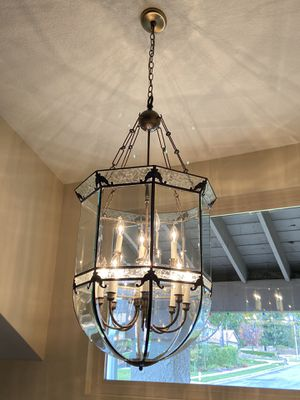 Glass Chandelier for Sale in Upland, CA