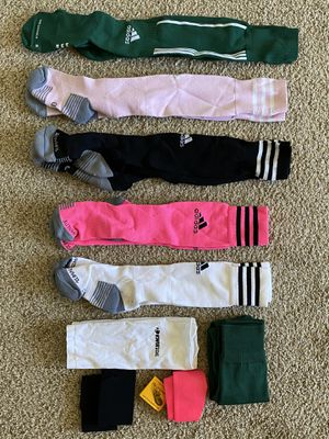 Women's adidas soccer socks size MD (fits shoe size 7) for Sale in Reno, NV