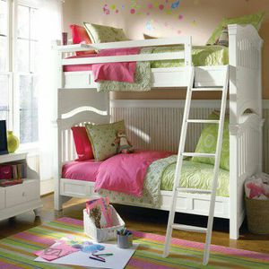 Kids White bunk bed for Sale in Verona, PA