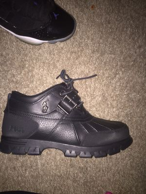 Black polo boots for Sale in Arlington, TX