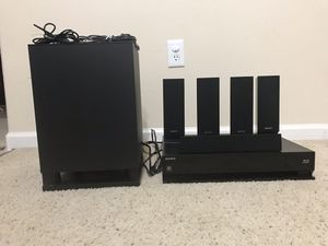 SONY 5.1 BDV-E570 3D BLU-RAY SYSTEM, HOME THEATER SYSTEM, for Sale in Herndon, VA