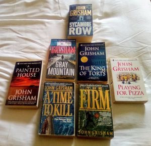 John Grisham $5 each book for Sale in Kennedale, TX