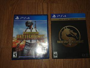 PubG & Mortal Kombat 11 Premium Edition for Sale in Fresno, CA