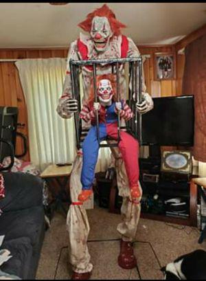 7ft Anamatronic Clown for Sale in Dowagiac, MI