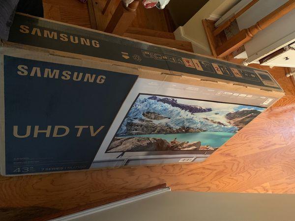 "43"" ultra UHD 4K smart Samsung"