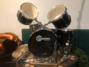 Gammon Junior Drum Set 5 piece set for Sale in Charter Township of Berlin, MI