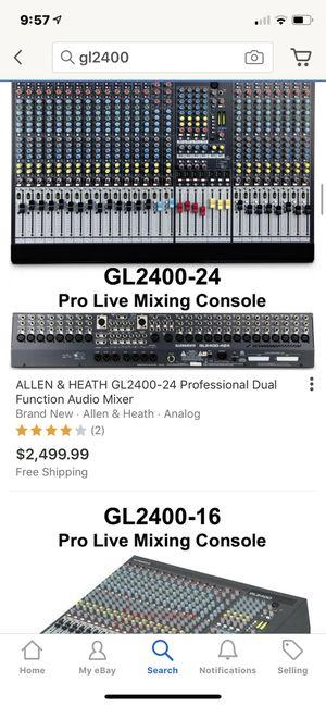 Allen Heath GL2400 Mixer DJ Equipment for Sale in ARROWHED FARM, CA