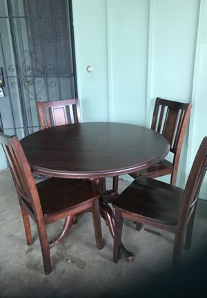 Dining and table set 4 chairs for Sale in Mesa, AZ