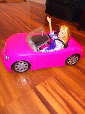 Hot pink glitter barbie car for Sale in Murfreesboro, TN