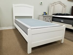 NEW! Helene Youth Twin Kids Bed - White (Mattress Sold Separately) for Sale in Clayton, NC