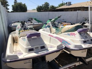 94, 95 seadoo with trailer for Sale in Phoenix, AZ