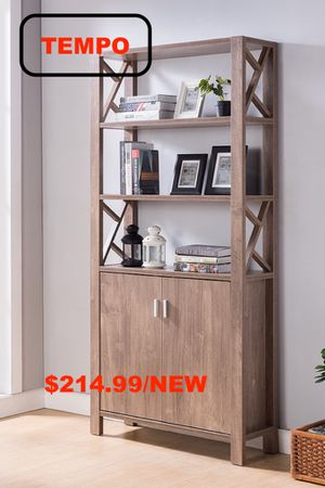 Modern Bookcase, Hazel for Sale in Midway City, CA