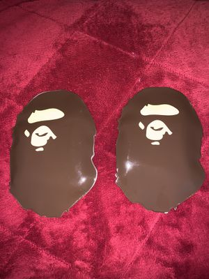 Bape ABC Camo Face Mask Pink and Green for Sale in San Leandro, CA