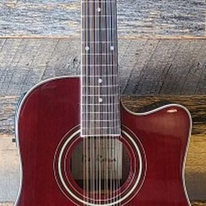 New 12 String Burgundy Cutaway Acoustic-Electric Guitar Combo Guitarra Requinto for Sale in Tolleson, AZ