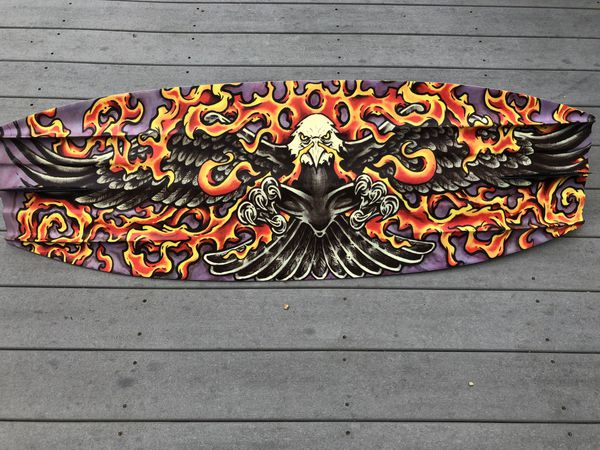 Hyperlite Wakeboard with flaming eagle!
