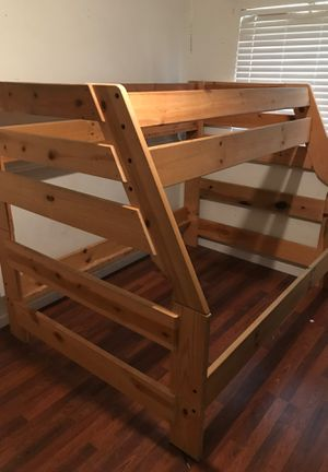 Bunk bed and mattress for Sale in Lathrop, CA
