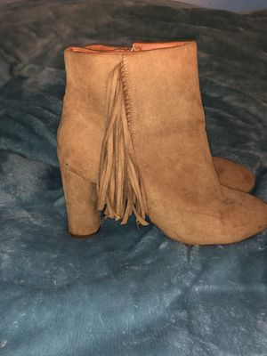Classic Camel Fringe bootie for Sale in Accokeek, MD