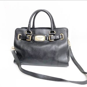 Michael Kors Black Hamilton Satchel Bag 35F5GHMT2L for Sale in Brea, CA