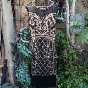 New flapper 1920's Gatsby sequin dress Large for Sale in Santa Fe Springs, CA
