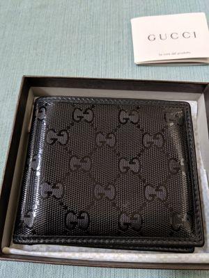 Authentic Gucci Wallet (Men's, Black) for Sale in Berkeley, CA