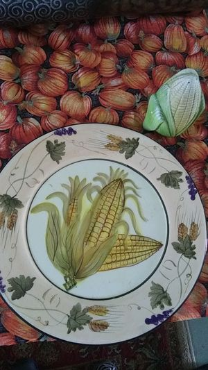 Corn plate hand painted for Sale in Victoria, TX