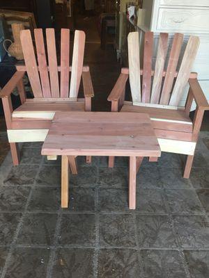 Garden patio furniture set Adirondack for Sale in San Diego, CA