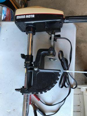 (Pending Pickup) Minn Kota Model 35, 17 lb. thrust. $30.00 for Sale in Plainfield, IL