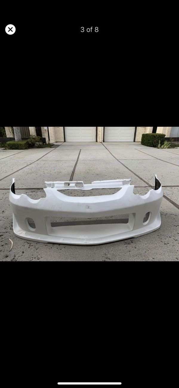 Authentic Buddyclub Front bumper and sideskirts for rsx dc5