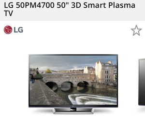 Lg tv plasma 50 inch for Sale in Fontana, CA