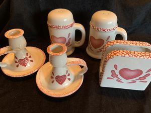 Hearts table sets for Sale in Waterbury, CT