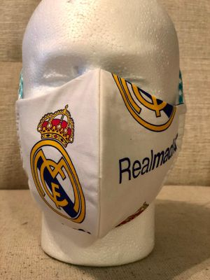 Handmade mask realmadrid and more 3m filtered for Sale in Orlando, FL