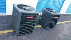 New condensers 2ton &1/2 r22 filled & 410A filled $475 small dent on grill so I Lowered the price. for Sale in Miami, FL