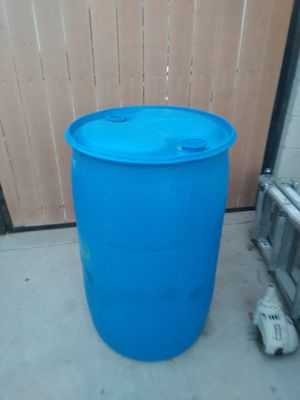 55 gall plastic drum for Sale in Gilbert, AZ
