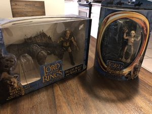 Lord of the Rings action figures for Sale in Sanger, CA
