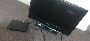 32 in tv and sony dvd player for Sale in Terre Haute, IN