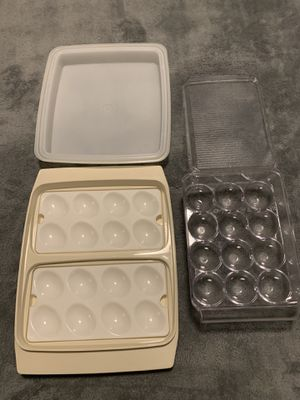 Egg Tupperware and storage containers for Sale in Kapolei, HI