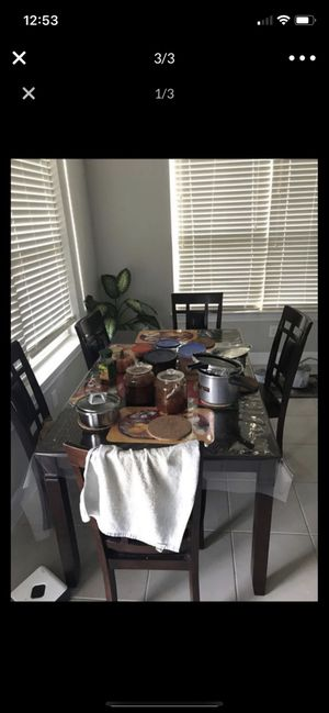 Dining Table with 6 chairs for Sale in Georgetown, TX