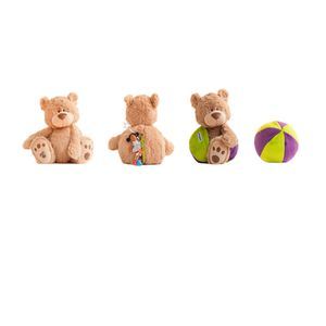 "Buddy Balls Eva 16"" Plush Teddy Bear Convertible Toy. for Sale in Bellflower, CA"