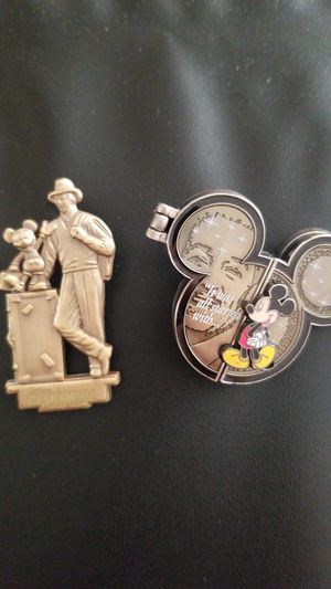 Collector Disney Pins featuring Walt and Mickey for Sale in El Cajon, CA