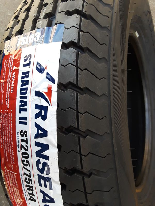ST205/75R14 [4] NEW TRAILER TIRES pick up ONLY!!!